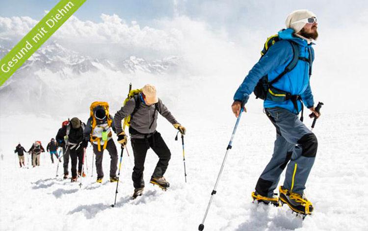 Höhenkrankheit – Vorsicht beim Bergwandern und Skifahren