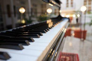 Klavier in der Max Grundig Klinik