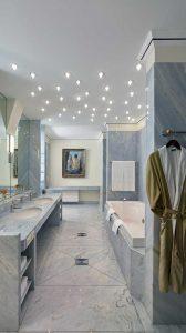 Badezimmer in einer Suite der Max Grundig Klinik