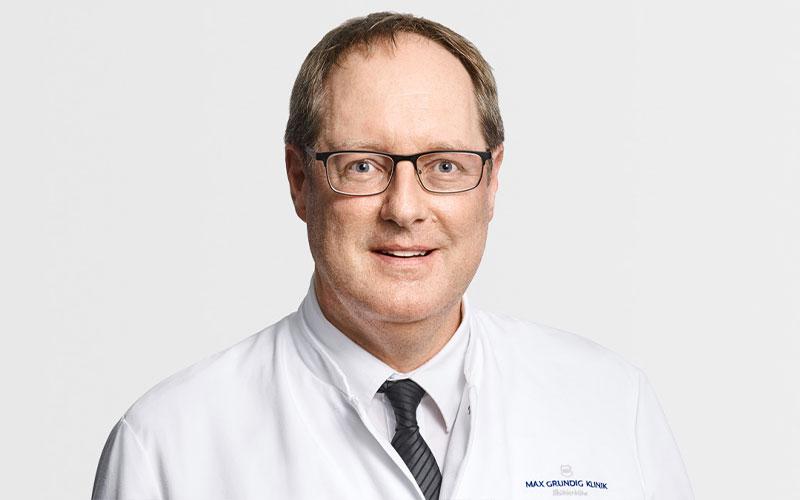 Dr. med. René Malzkorn, Leitender Arzt der Orthopädie