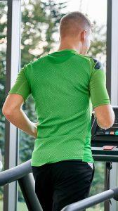 Sport auf dem Laufband