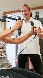 Physiotherapie mit persönlicher Betreuung