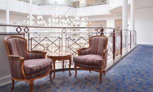 Interiordesign der Max Grundig Klinik