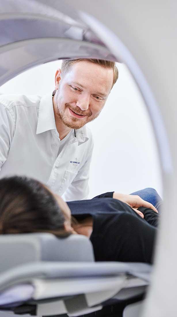 Medizinisches Fachpersonal in der Radiologie