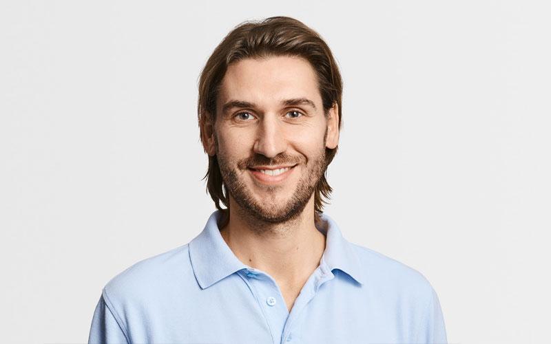 Matthias Zehnle, Leitung Physiotherapie
