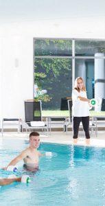 Aquasport mit fachlicher Begleitung
